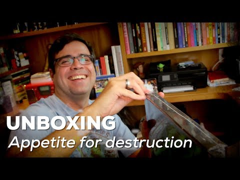 "Unboxing ""Appetite for destruction"" 30 anos 