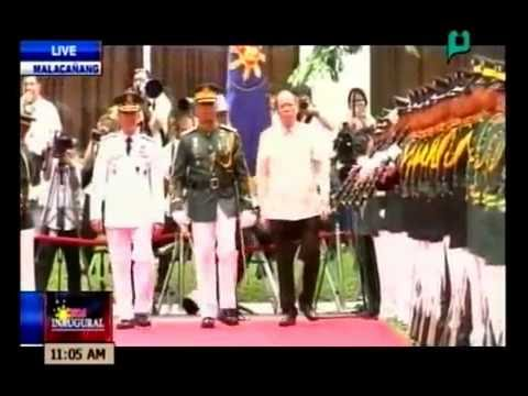 VIDEO: Departure honors for outgoing Pres. Benigno Aquino III