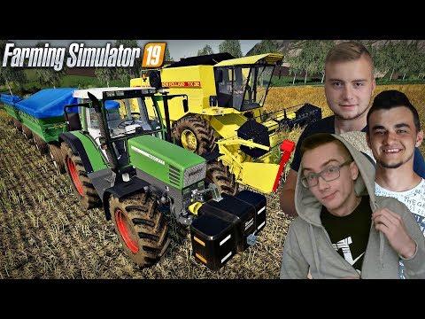 "Farming Simulator 19 MP ""od Zera do Farmera""#17㋡ Żniwa Rzepaczane na dużym polu!  ✔ MafiaSolecTeam thumbnail"