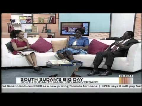 Rebecca Garang on South Sudan at 3 years of independence with Joy Doreen Biira