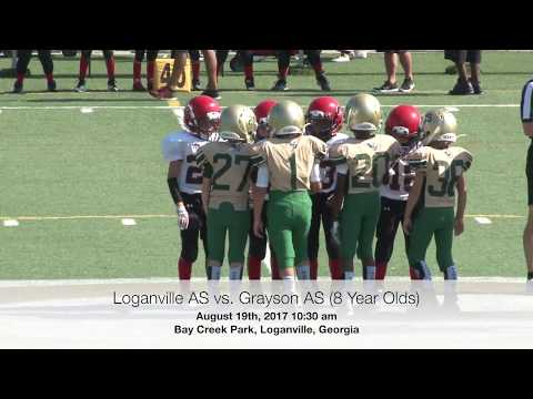 8.19.17 Loganville AS vs. Grayson AS (Bryant) - 8 Year Olds - Bay Creek Park - 1030 am