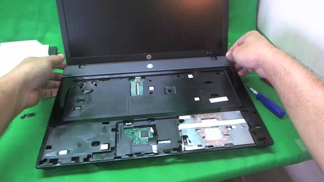 Battery Cable Replacement >> HP 625 Notebook Screen Replacement Procedure - YouTube