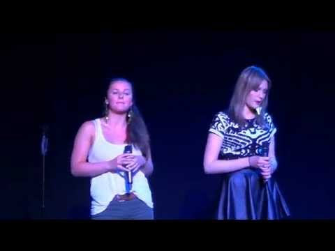 titanium by David Guetta ft Sia - Lucy and Marisa (cover)