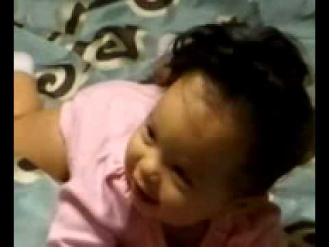 Cienna. Cutest blue eyed mixed baby(black/white) - YouTube