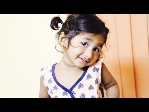1 year girl singing NEE DAYALO NEE KRUPALO TELUGU CHRISTIAN SONG SHOCKING