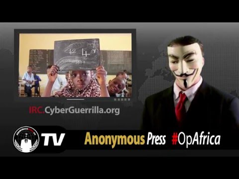 Anonymous Operation Africa #OpAfrica