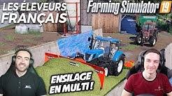 LES ÉLEVEURS FRANÇAIS !!! 🐄🇫🇷 - On fini l'ensilage avec Stervio ! 🙂