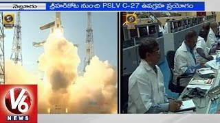 ISRO successfully launched PSLV-C27 from Sriharikota (28-03-2015)