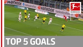 Lewandowski, Sancho, Brandt & More - Top 5 Goals on Matchday 16