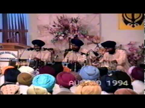Bhai MohinderJeet Singh Ji (Delhi Wale)- Gurdwara Scarborough, Ontario - 20 August 1994