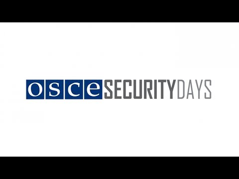 Security Days 2014 -- Water Diplomacy: Panel 1