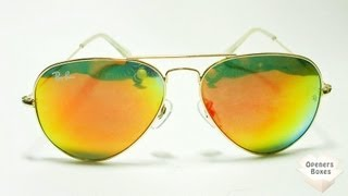 Ray Ban - Red Lenses + Gold Frame for PriceAngels - SKU : 462372
