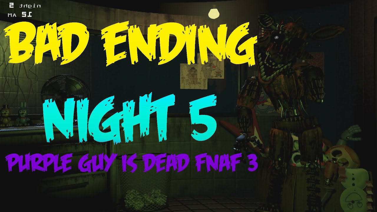 Everything We Know About Five Nights at Freddy's 3