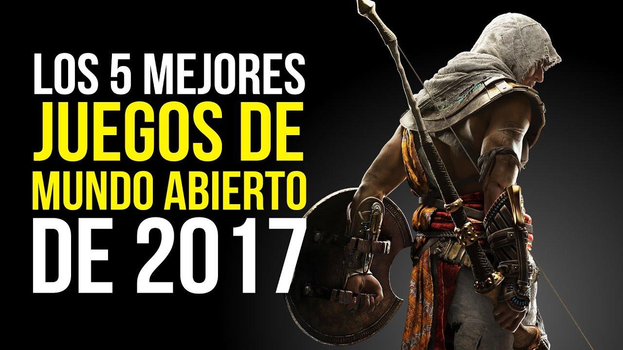 Los 5 Mejores Juegos De Mundo Abierto De 2017 Youtube