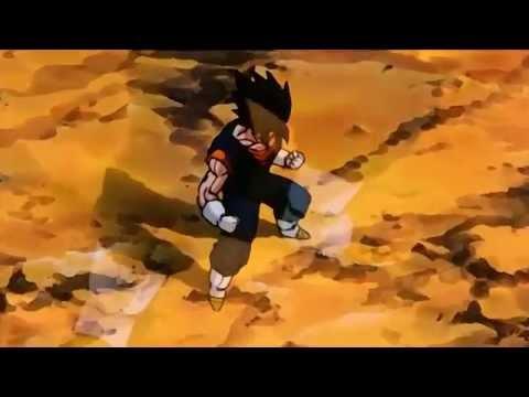 Goku and Vegeta Fused (Vegito) Using Potara Earing