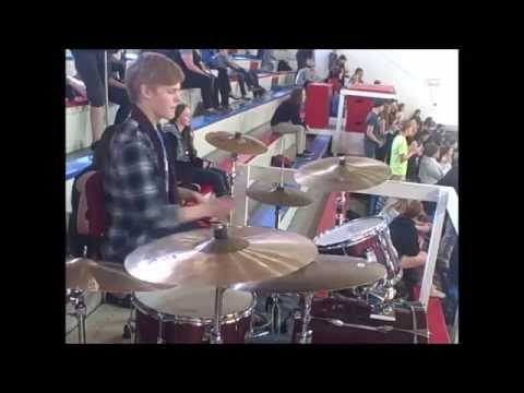 Keith Lambson- Pocatello High School Pep Band (5/12/2015)