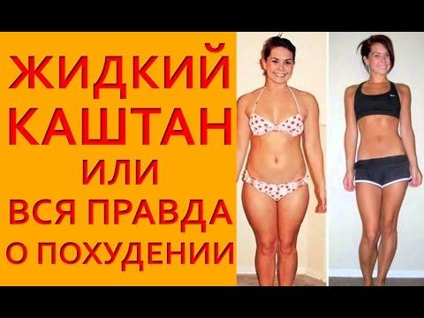 Жидкий каштан для похудения. Диетолог Елена Чудинова.