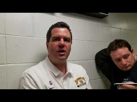 Quinnipiac Coach Moore Post Iona 01/23/17