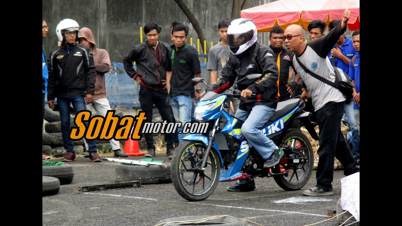 Drag Race Suzuki Satria F150 Injeksi