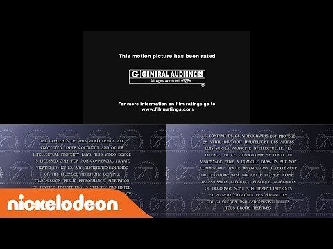 MPAA Rated G/Paramount Home Video warning screens (2000/2001)