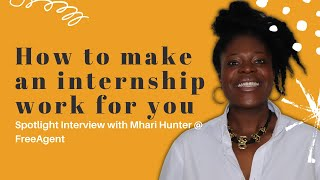 Tips from an employer perspective on how to make your internship work for you