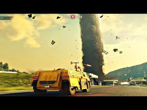 Just Cause 4 - Tornado Mission Gameplay Walkthrough [1080p 60fps]