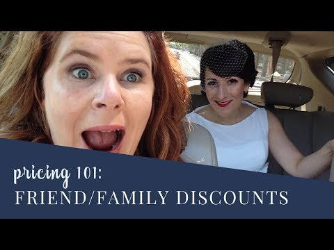 Giving Discounts: how to build generosity into your business instead of giving discounts