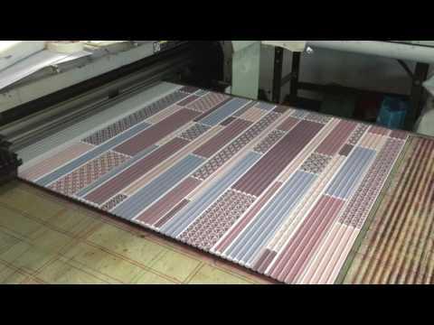 Large size inkjet printer direct print yoga mats videos