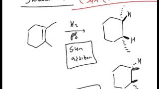Alkenes Part 1   Synthesis and Properties   Catalytic Hydrogenation of Alkenes tutorial