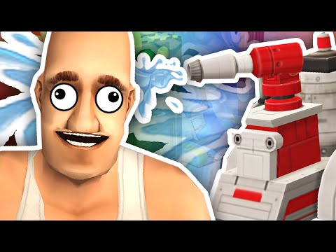 THE ROBOTS GONE CRAZY!! | The Sims 2 #3