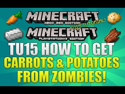 how to make a carrot in minecraft xbox 360