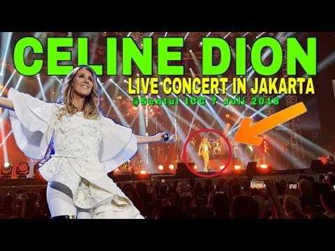 Celine Dion Live Concert In Jakarta 7 July 2018 @Sentul International Convention Center