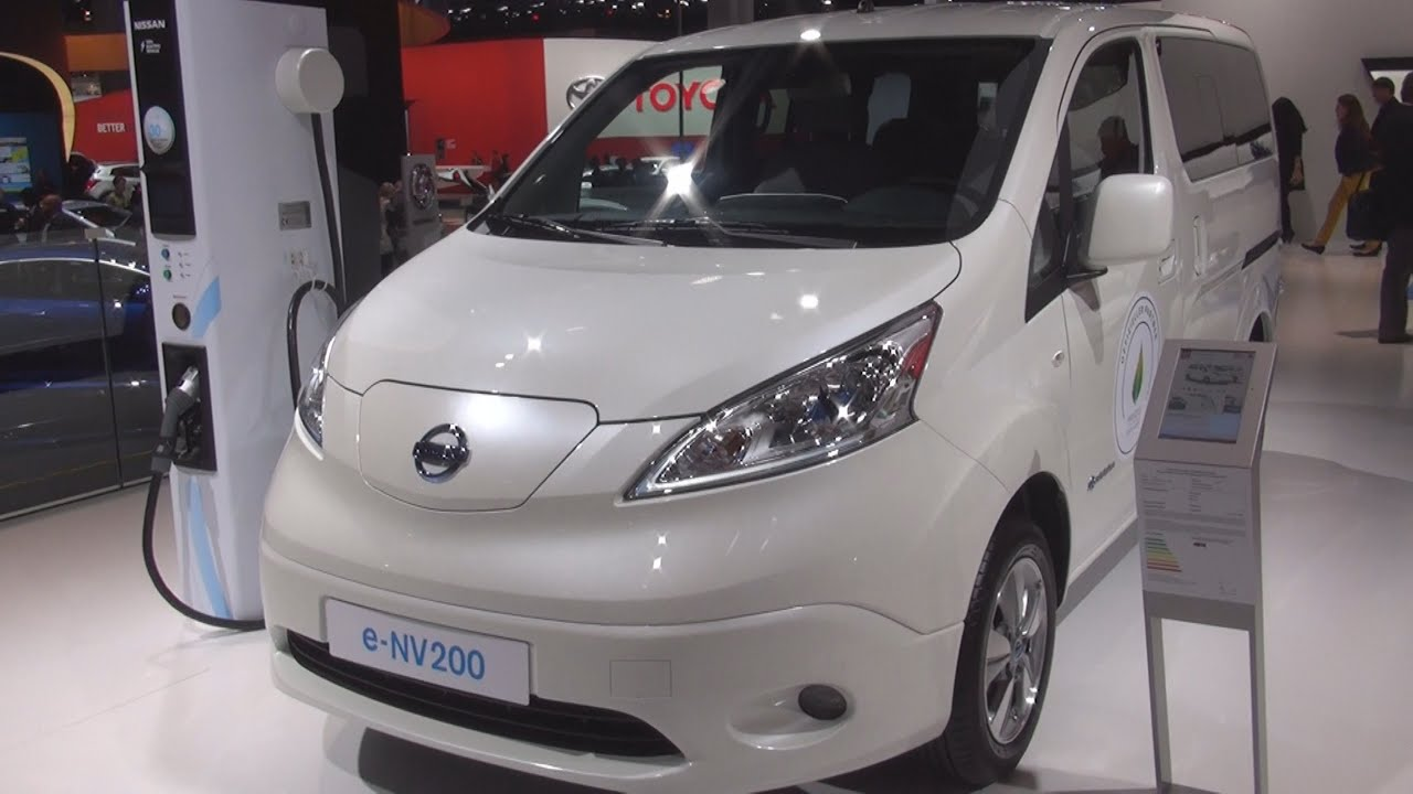 nissan e nv200 evalia 2016 exterior and interior in 3d. Black Bedroom Furniture Sets. Home Design Ideas