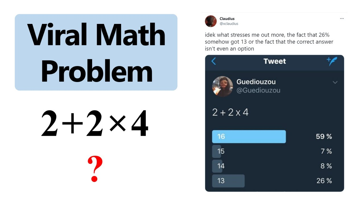 This simple math problem is going viral. Can you solve it?