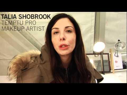 TEMPTU & Talia Shobrook at NYFW Jenny Packham Fall 2011