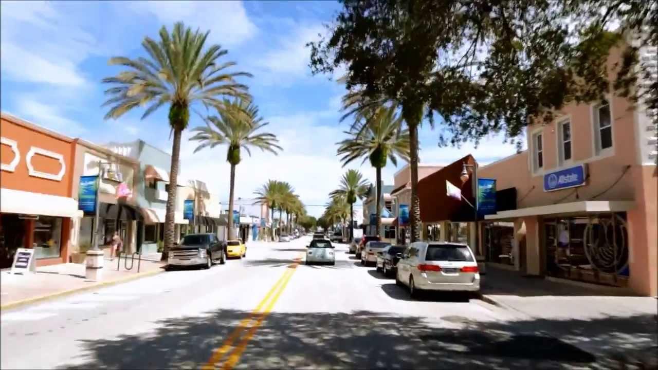 New Smyrna Beach City In Florida