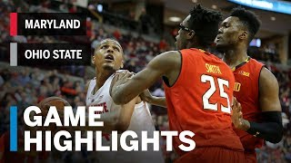 Highlights: Maryland at Ohio State | Big Ten Basketball