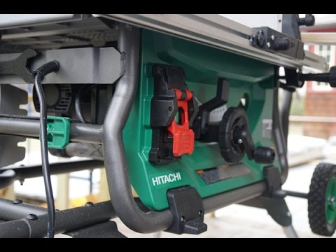 Hitachi 10 Inch Job Site Table Saw C 10rj