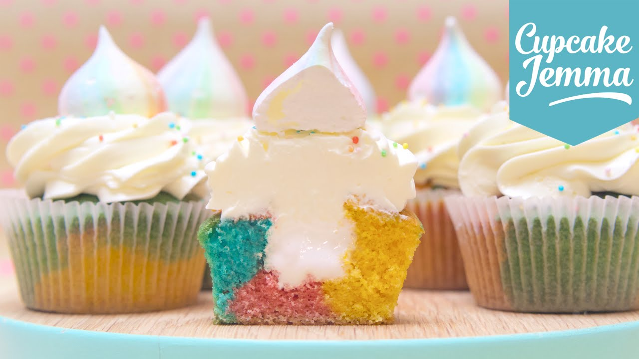 how to make unicorn cupcakes