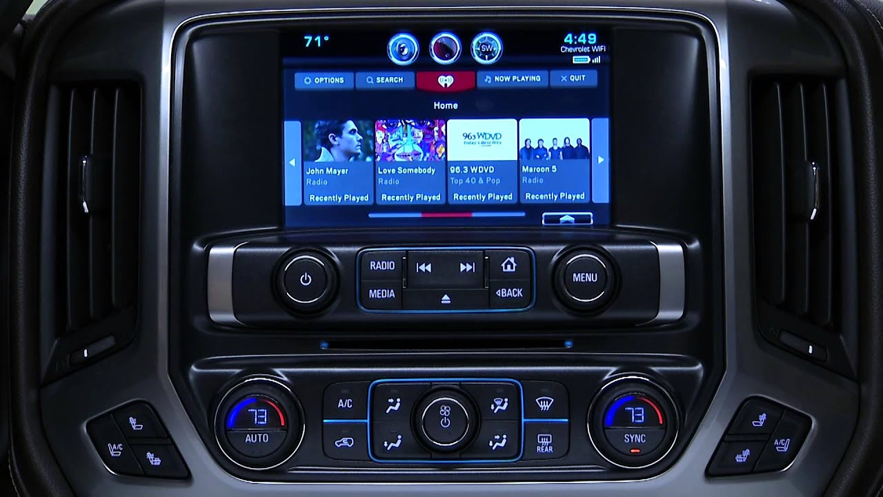 Chevrolet 4G LTE - Built In Wi-Fi HotSpot Car - Apps ...