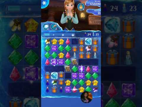 Frozen free fall endless maps wrapped figurines  live play level 609