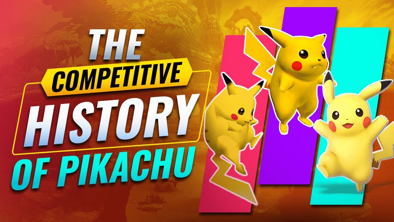 The Competitive History of Pikachu in Super Smash Bros