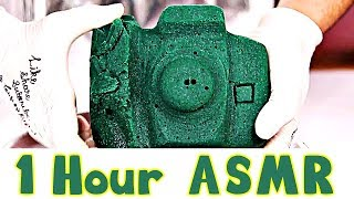 1 Hour ASMR Floral Foam Experience Crushing and Cutting Floral Foam thumbnail