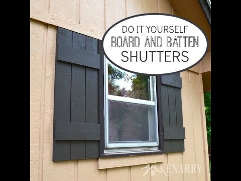 DIY House Shutter Project