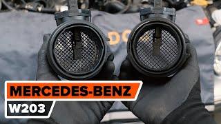 Installation af Maf dig selv videoinstruktion på MERCEDES-BENZ C-CLASS