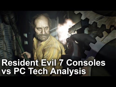 Resident Evil 7 PS4/ Pro/ Xbox One/ PC Graphics Comparison + Frame-Rate Test