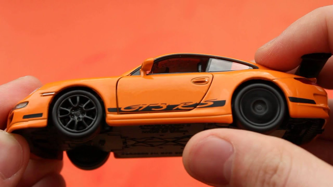 Porsche 911 997 Gt3 Rs Welly Toys Youtube