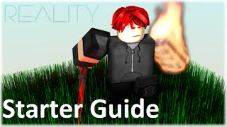 Roblox Reality - Starter Guide (Everything you need to know!)