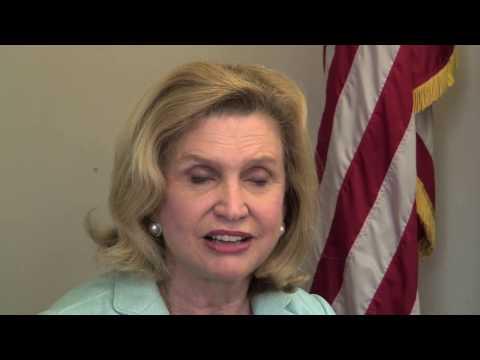 Carolyn Maloney - Interview