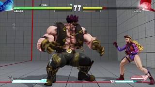 STREET FIGHTER V - Abigail VS Kolin